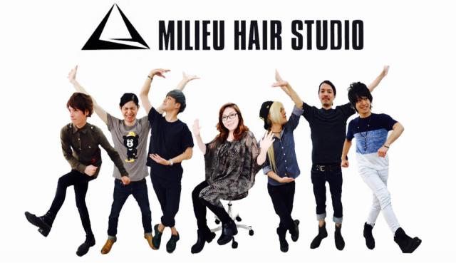 Milieu hair studio with B'