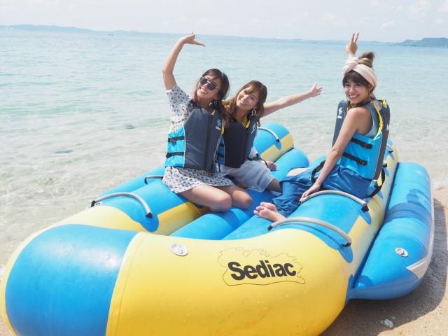 マリンアクティビティはもちろん、豪華なクルーズ船でのパーティーや、美しいビーチでのBBQなどのサービスをご用意。 またボート等で思いっきり海を楽しめます♪