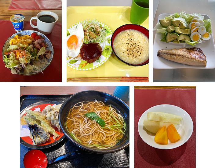 【体重&体脂肪率を下げる食事】